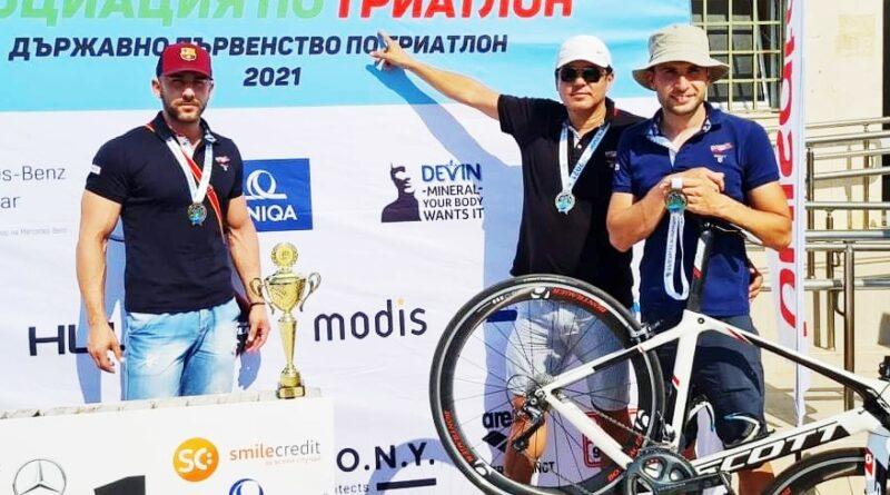 """""""Дитабус"""" стана национален шампион по триатлон, бие с разлика конкурентите"""