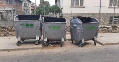 Похвално: Поставиха още контейнери за боклук в Асеновград